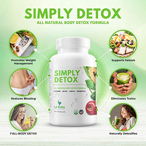 Super Detox & Colon Cleanse for Weight Loss & Gut Support, Natural Cleanser for Women to Lose Belly Fat Fast – Constipation & Bloating Relief, Flatter Stomach + Detoxification, 100 Debloat Pills 3