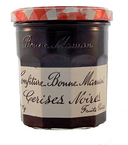 (Bonne Maman Cerises Noires - Black Cherry Jam - 13 oz.)
