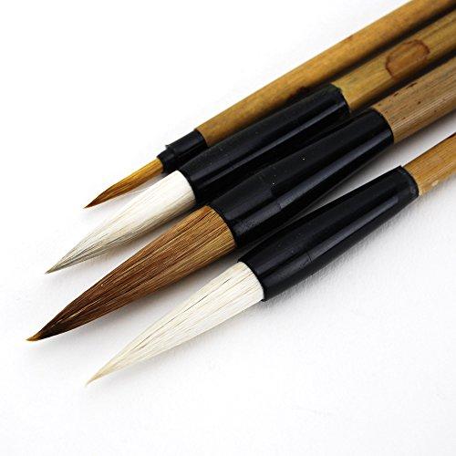 Chinese Brush Painting Kit Master Calligraphy Kanji Sumi Painting Brushes Pack of - Brush Painting Kit Chinese