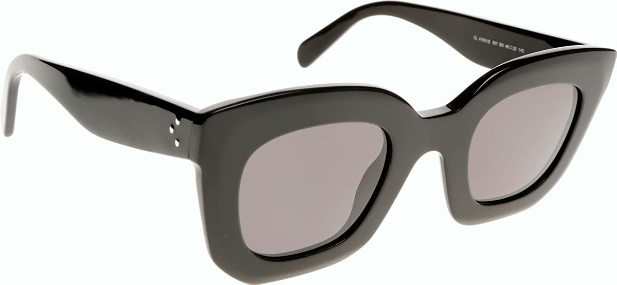 0be563962ca Celine 41091S 807 Black Marta Small Wayfarer Sunglasses Lens Category 3   Amazon.co.uk  Clothing