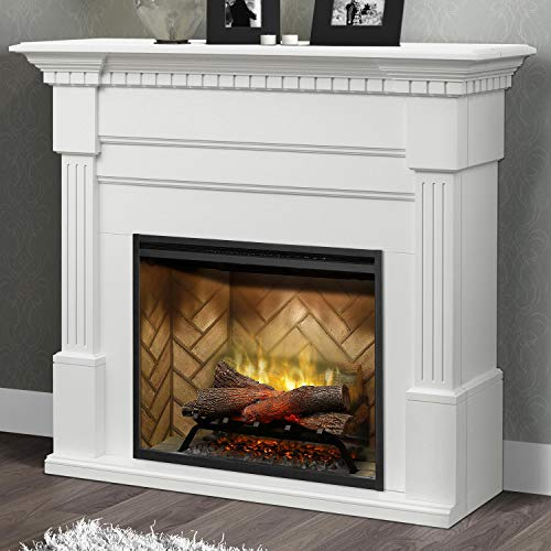 Cheap DIMPLEX Christina Electric Fireplace Mantel Package - White Black Friday & Cyber Monday 2019