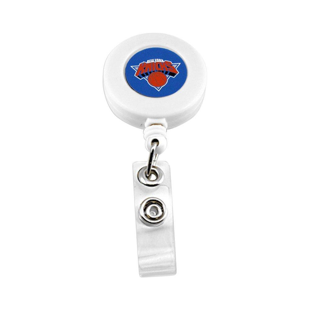 新しいYork Knicks格納式バッジリールIDチケットクリップ   B00ITHFN0I