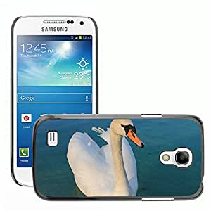Super Stella Slim PC Hard Case Cover Skin Armor Shell Protection // M00149381 Swan Beautiful Bird Graceful Lake // Samsung Galaxy S4 Mini i9190
