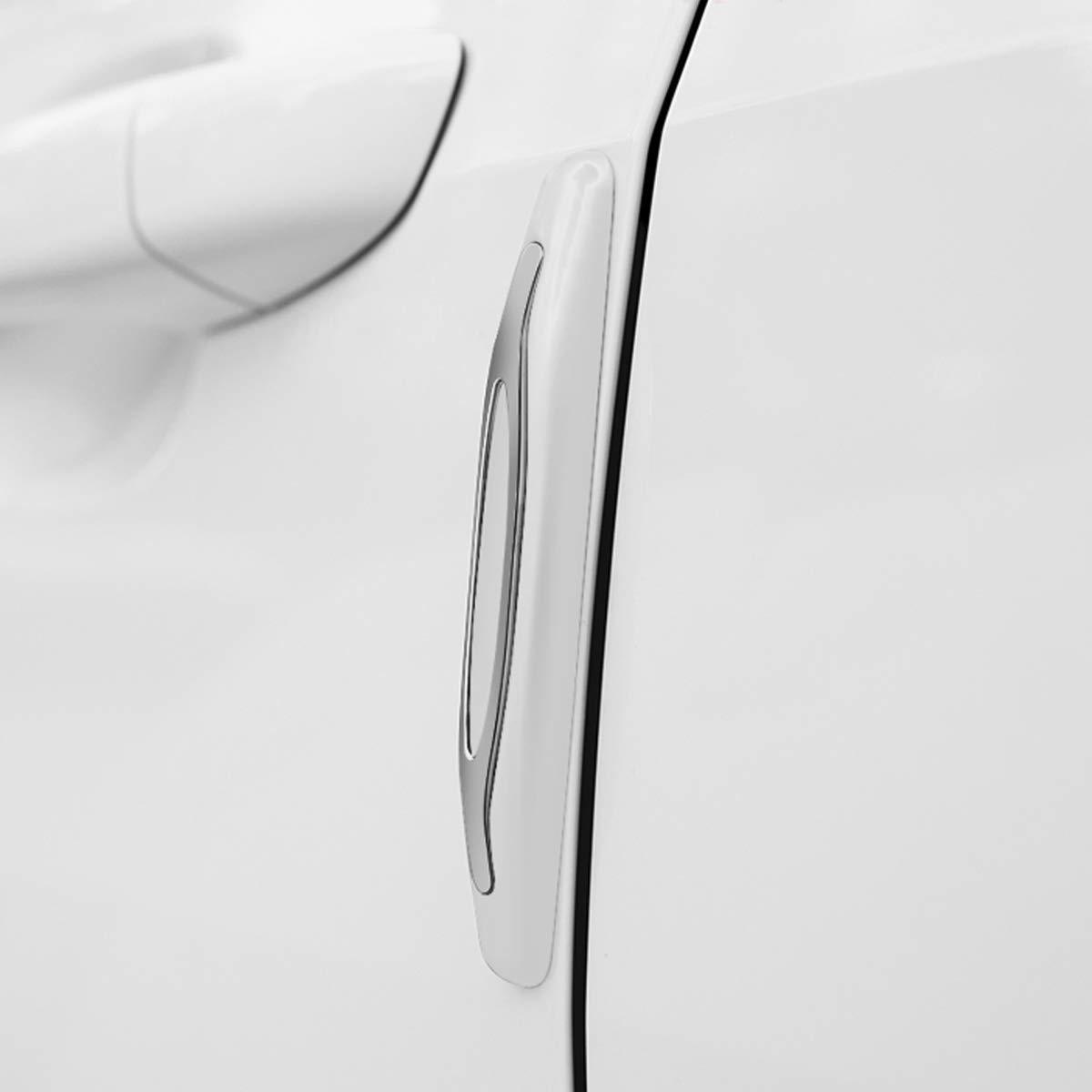 Striscia Decorativa SUV Paraurti di Protezione Della Porta 4Pcs Protezione Per il Rivestimento Della Porta Anticollisione Bordo Specchietto Retrovisore Proteggi il Camion Resistente ai Graffi