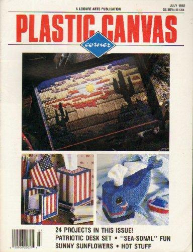 Plastic Canvas Corner - July 1992- Vol. 3, Number (Plastic Canvas Corner)