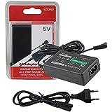 Caricabatterie per Sony PSP compatibile con tutti i modelli -1000 / PSP-1004 / Brite (PSP-3000 / PSP-3004) / PSP Slim & Lite (PSP-2000 / PSP-2004) / PSP Street (PSP-E1000 / PSP-E1004) Alimentatore Playstation Portable