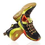 Salming Kobra Mens Squash Shoes (10.5, Black/Orange)