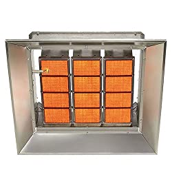 SunStar Heating Products SG10-N Gas Infrared Natural Gas Ceramic Heater 100,000 Btu