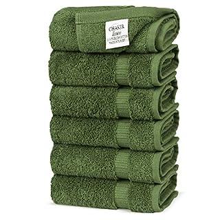 Chakir Turkish Linens Turkish Cotton Luxury Hotel & Spa Bath Towel, Hand Towel - Set of 6, Moss (B00SP0BQEG)   Amazon price tracker / tracking, Amazon price history charts, Amazon price watches, Amazon price drop alerts