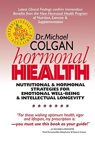 51Hw QSIIcL - Hormonal Health: Nutritional & Hormonal Strategies for Emotional Well-Being & Intellectual Longevity