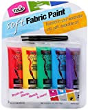 Tulip 29375 Soft Fabric Paint, 5-Pack