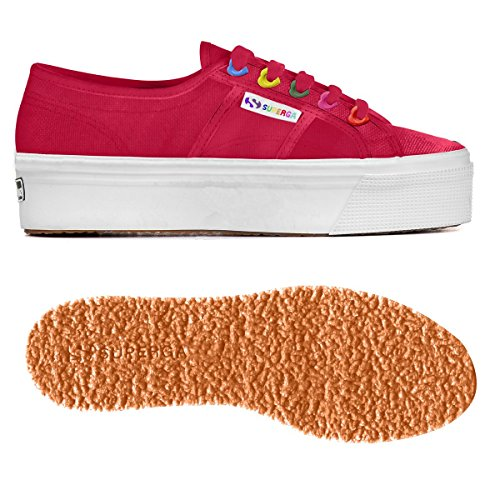 Colors Sneaker 2730 Red Cerise Hearts Cotw Superga Donna IF7qER