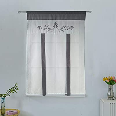 Buy Homeyho Tie Up Curtains Floral Balloon Curtains For Kitchen Roman Curtains For Kitchen Windows Tie Up Curtains For Windows Roman Curtain For Kitchen Roman Curtains For Living Room 31 X 47
