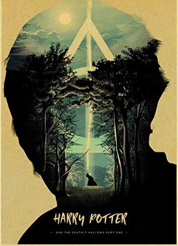 PWERWOTAM Harry Potter Cartel de la película El Castillo de ...