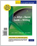 The Allyn and Bacon Guide to Writing, Brief Edition, Books a la Carte Edition 9780205114306