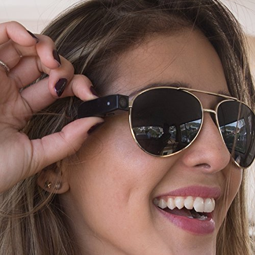 PogoCam: Tiny, Removable Photo & HD Video Camera for Your Glasses | by - Sunglasses Action View