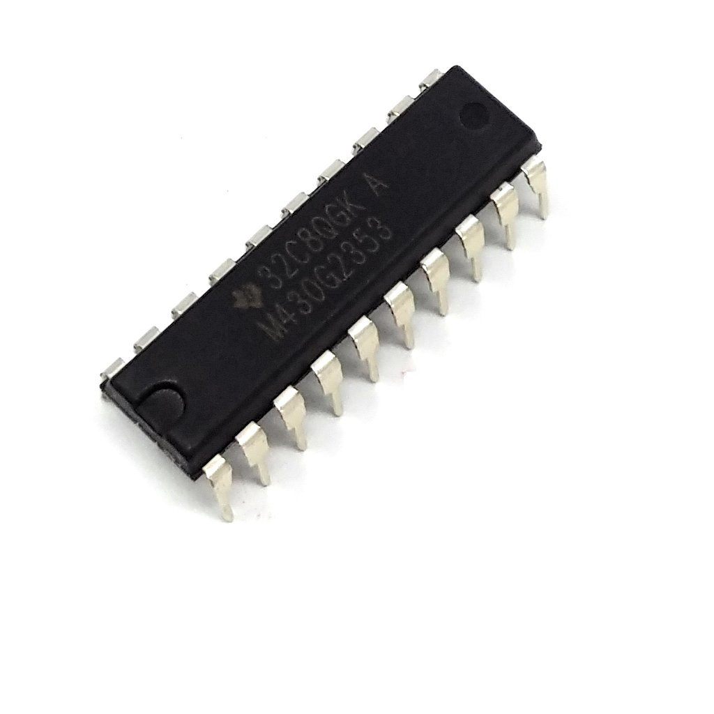 MSP430G2353IN20 MSP430 microcontroller Flash4kB SRAM256B 16MHz DIP20 TEXAS INSTRUMENTS
