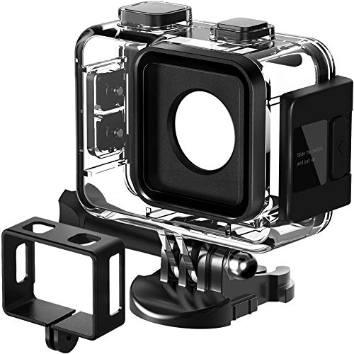 APEMAN Trawo Action Camera Waterproof Case and Black Frame