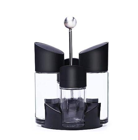DAxixi - Botes de condimento Capacidad de Giro Vertical para ...
