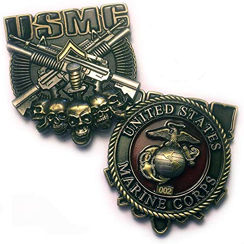 USMC PFC Private First Class Rank Marine Corps Military Coin