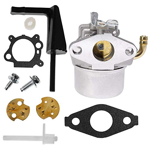 Anxingo 591299 Carburetor for Briggs & Stratton 791077 696981 698860 791991 698810 Craftsman Tiller Intek 190 6 HP 206 5.5hp Engine Models 120202 120212 110432-0179-E1 - 6 Hp Briggs Engine Intek