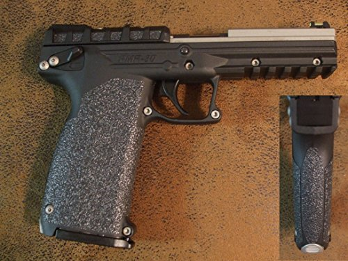 Black Textured Rubber Peel and Stick Grip Enhancements for the Kel-Tec PMR 30 .22 Magnum