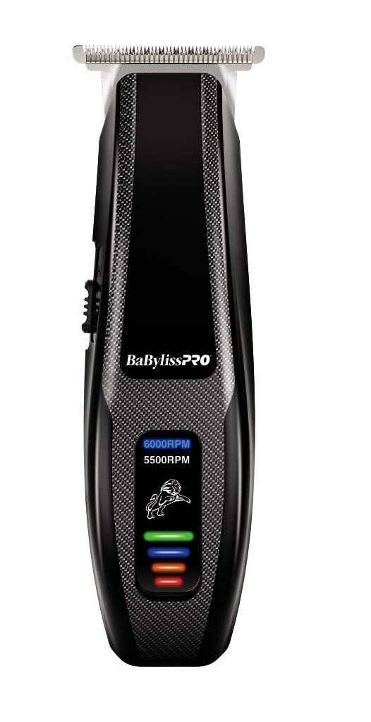 - 51Hw2yTLA3L - BaBylissPRO Barberology Cord/Cordless FlashFX Trimmer, Zero Gap