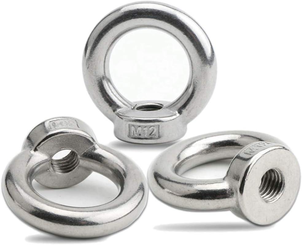 20PCS Ojales de elevación, anilla hembra para levantar acero inoxidable 304, Pack-of-20, M4: Amazon.es: Bricolaje y herramientas
