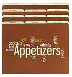 Meadowsweet Kitchens Recipe Organizer File Folder Set - Wordle