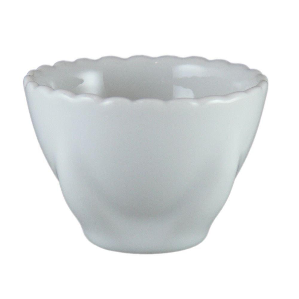 Vertex China AV-LC Ventana Lotus Cup, 2-1/2'' x 1-3/4'', Porcelain White (Pack of 48)