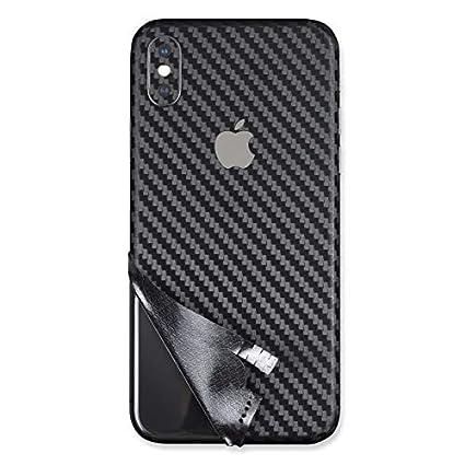 best service 50d45 f01c0 Full Wrap Carbon Fiber Skin Sticker for iPhone Xs, iPhone Xs Max, iPhone X,  iPhone XR, iPhone 8 Plus, iPhone 8, Vinyl Decal, Self-Adhesive, Slim, ...