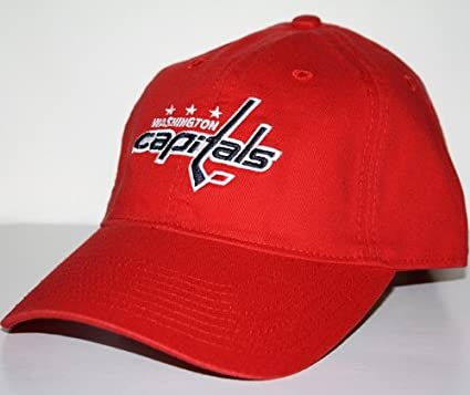 4ea85186d3357 Amazon.com  Washington Capitals Red BL Slouch Adjustable Hat  Sports    Outdoors