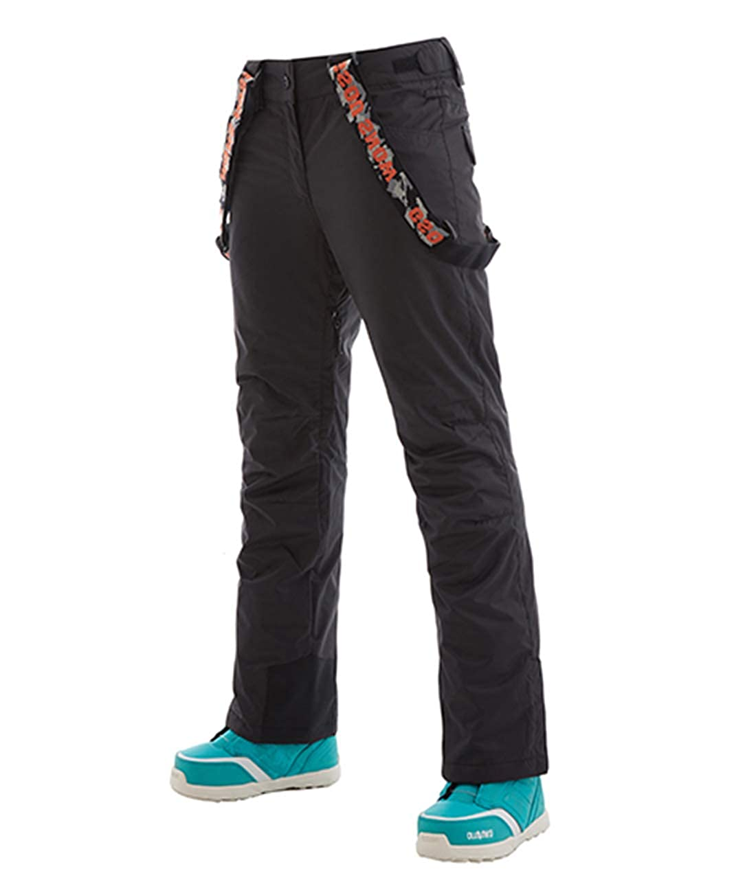 APTRO Womens//Girls Windproof Waterproof Snow Pants Removable Suspenders Insulated Ski Pants