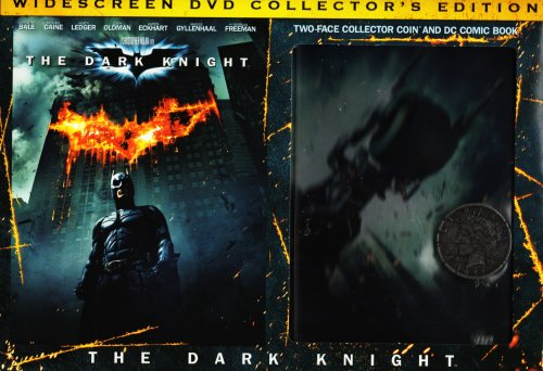 The Dark Knight: Wide Screen Collector's Edition (With 2-in-1 DC Comic Book and Two-Face Replica Collector Coin)