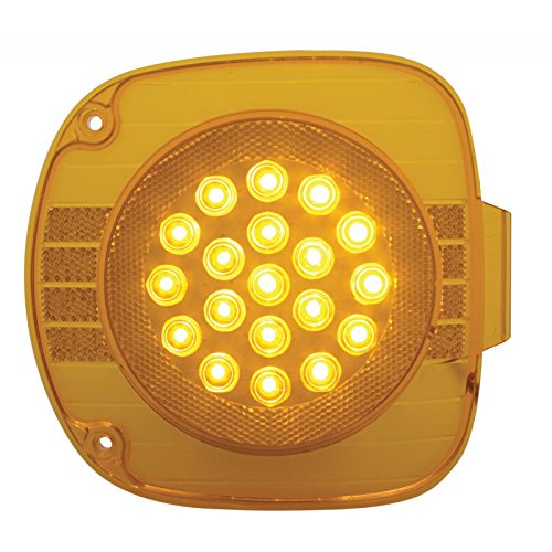 United-Pacific-22-Amber-Led-Freightliner-Front-Turn-Signal-Light-Amber-Lens