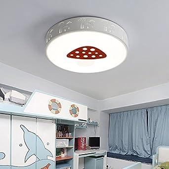 BRILIFE Deckenleuchte Für Wohnzimmer Pilz Deckenleuchte Kind Raum Führte  Deckenleuchten Schlafzimmerleuchten Lampara Techo Plafonnier