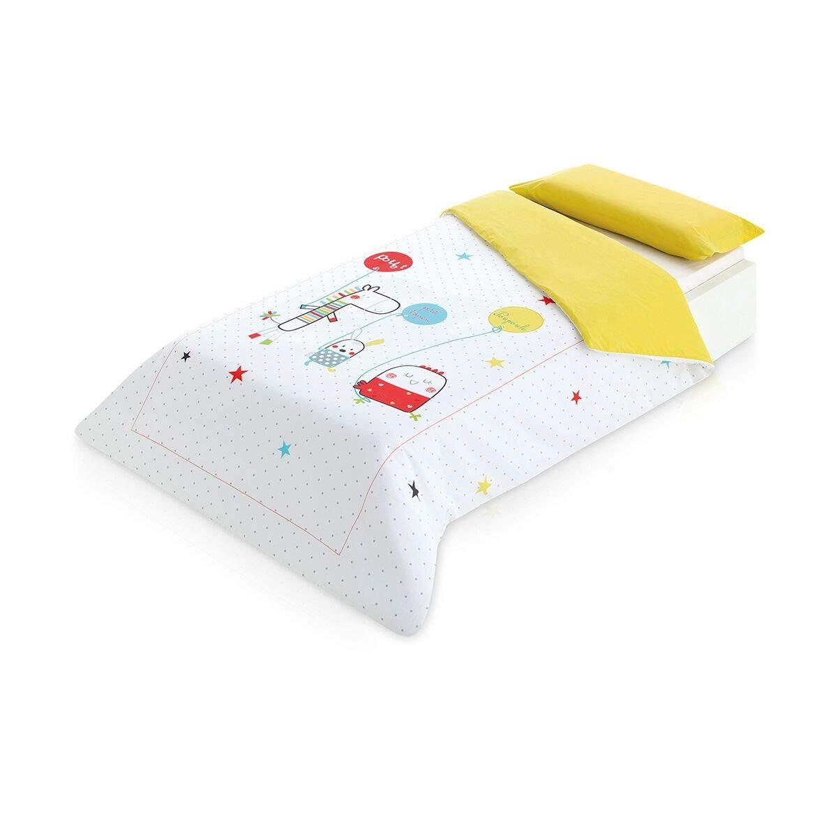 Pirulos Lapin Bettbezug und Kissenbezug