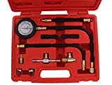 ABN Fuel Injection Pressure Test Kit – Comprehensive Universal Set with IMPROVED Flex Hoses,...
