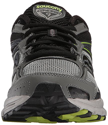 Black Grey 10 Cohesion lm Tr9 Trail Shoe Men's Us Lime black Saucony Running M Grey 5 8zOg6WnW