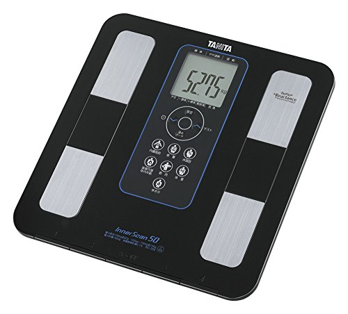 50 Black Inner Scan Body Composition Meter TANITA BC-305-BK - 15mm Ultra-thin Body] (Japan Import) by N/A