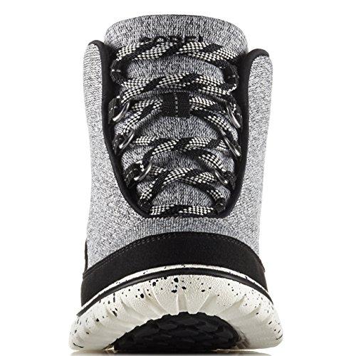 Mujer Sorel Fashion Boots NL2000-010 SCOTIA LACE Negro Negro Bisque, Black