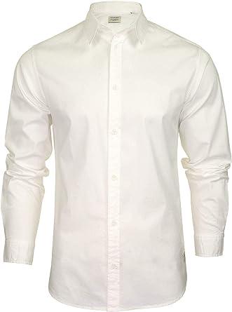 Jack & Jones Clint - Camisa de popelina de manga larga para hombre
