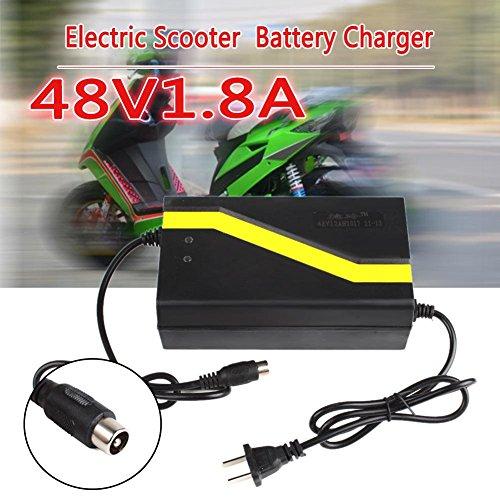Eachbid 48V 1.8A 12AH US Plug Lead Acid Battery Charger for Electric Car E-bike Scooter Type O