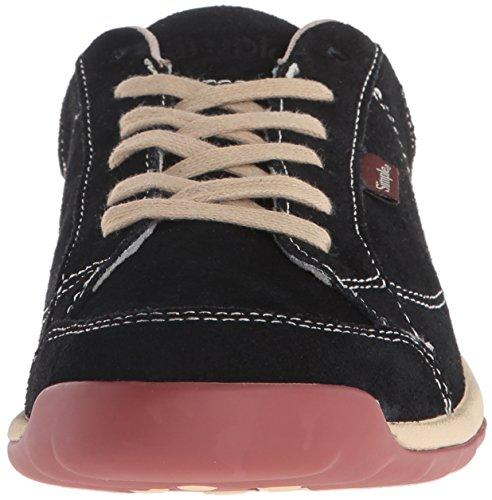 Suikersiermode Sneaker Zwart Van Eenvoudige Dames