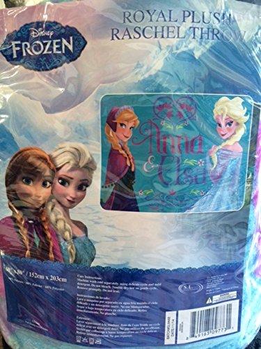 Disney's Frozen 60x80'' FULL Size Mink Quality Blanket Throw by Disney