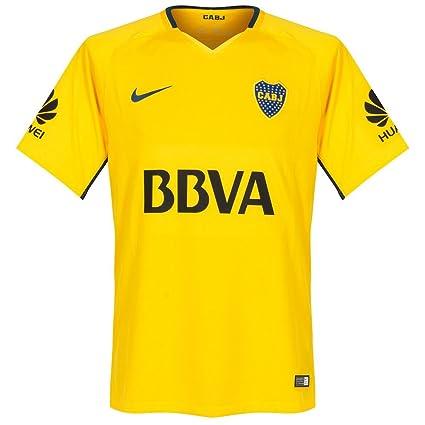 los angeles f601a be38f Amazon.com : Boca Juniors Away Jersey 2017 / 2018 : Sports ...