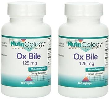 Amazon.com: Ox Bile, 180 cápsulas de 125mg ...