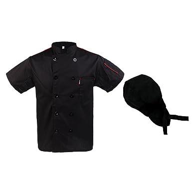 D DOLITY 1x Abrigo con 1x Sombrero de Chef Ejecutivo Busto de ...