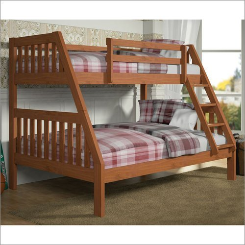 Donco Kids Mission Bunk Bed Twin/Full Cinnamon