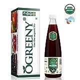 jamun Vinegar Organic Vinegar|Jamun Vinegar with Mother 500 ml Glass Bottle (Certified Organic) Made with Organic Jamun Fruit Juice|Best Quality